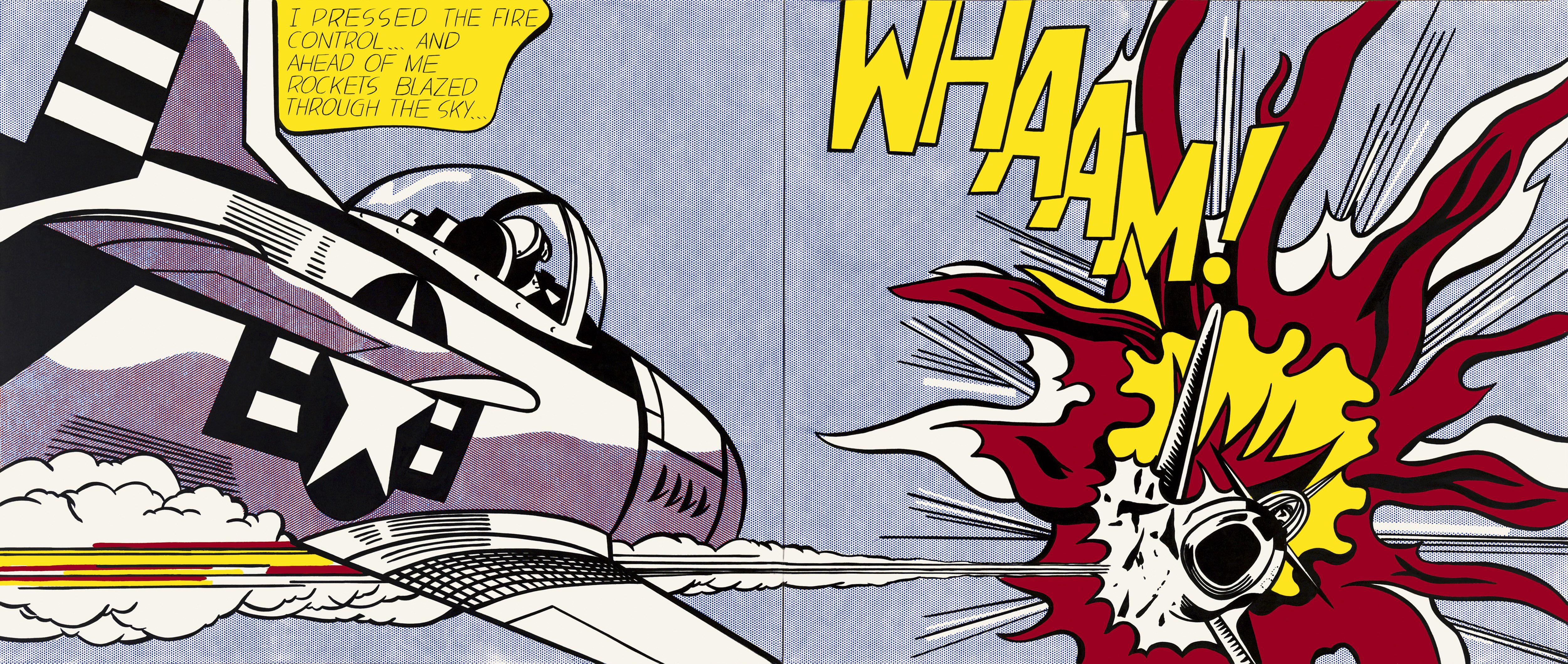 Lichtenstein at tate hypocrisy and irony in comic strip art exploring art in the city and - Roy lichtenstein pop art ...