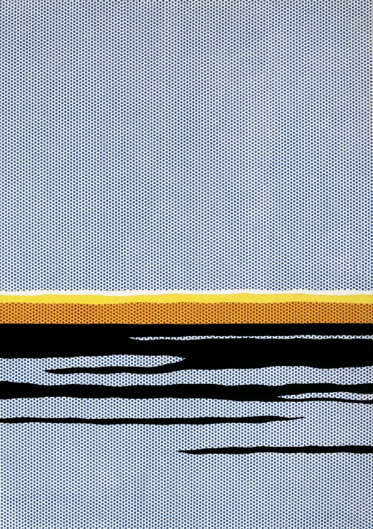 Seascape c.1965 Oil and Magna on canvas Private collection © Estate of Roy Lichtenstein/DACS 2012