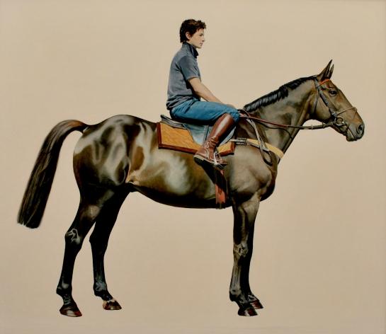 Jockey and Horse - James Stewart (£3750)
