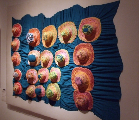 Yumiko Kawai - Circles, 2009 Image from Social Welfare Corporation Yamanami Atelier