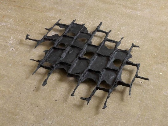 Cornelia Parker -   Black Puddle (Rhoda Street) 2013 Black patinated bronze 109 x 118 x 6 cm